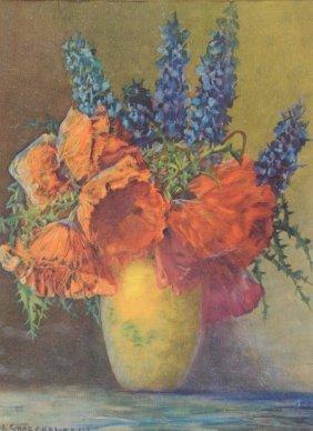 "MAX THEODORE STRECKENBACH (German 1863-1936) A PRINT, """