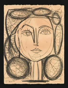 Pablo Picasso (spanish/french 1881-1973) A Lithograph,