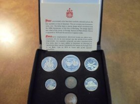 1974 Canada Double Cent Set Original Royal Canadian