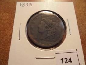 1838 Us Large Cent