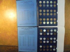 2 Lincoln Cent Albums See Description 1909-1940