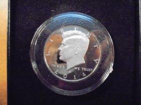2014-s Silver Kennedy Half Dollar Kennedy Pf