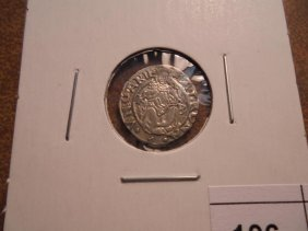 Circa 1526-64 Hungary Silver Denar Ferdinand I Era Holy