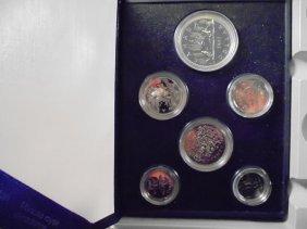 1982 Canada Specimen Set Original Royal Canadian Mint