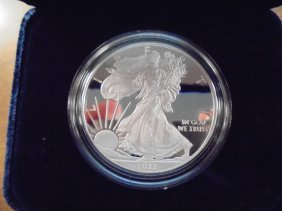 2012-w American Silver Eagle Proof Original Us Mint