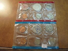 1970 Us Mint Set (unc) P/d/s (with No Envelope) 40%