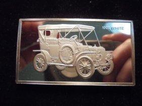 1000 Grains (over 2 Oz.) Sterling Silver Pf Ingot 1909