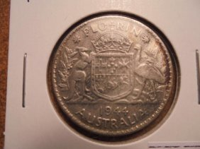 1944 Canada Silver 50 Cents Cleaned