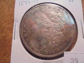 1896-o Morgan Silver Dollar Extra Fine
