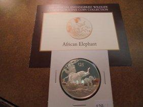1993 British Virgin Islands Silver Proof $25