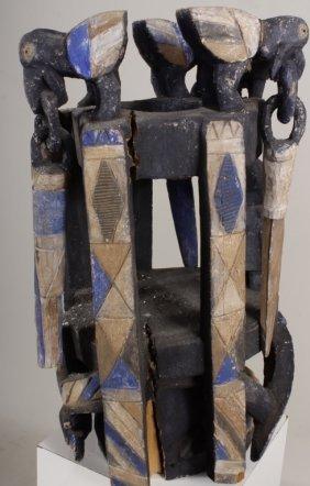 Yoruba Gelende Society Dance Mask,