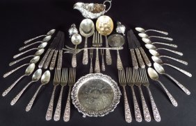 Group Of S. Kirk & Son Sterling Silver