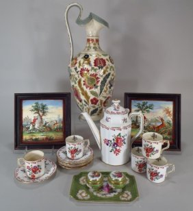 Group Of European Porcelain Royal Crown Derby