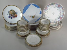 Group Of Porcelain Continental 19th/20thc