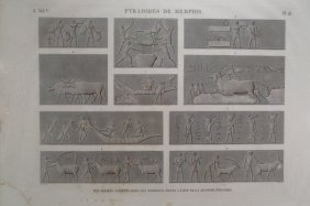 "Two Prints From ""description De L'egypt"", C. 1802"