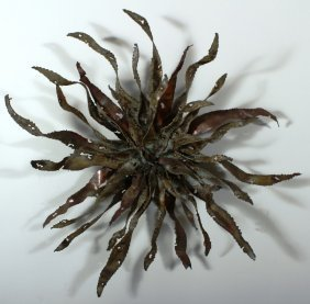 Silas Seandel, Am., Metal Wall Sculpture