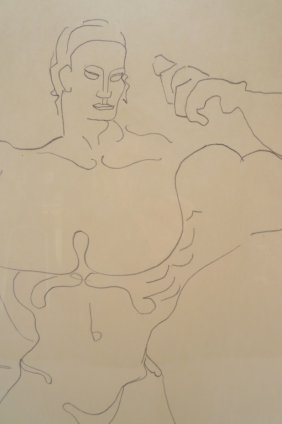 Gaston Lachaise, Nudes, 2 Graphites On Paper