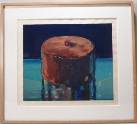 "Wayne Thiebaud, B. 1920, ""dark Cake"", 1983"