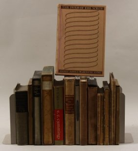 Group Of Poetry And Other Books, 20th C.