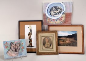 Mixed Group Of 5 Art Works