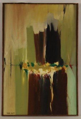 Arnold Weber, Horizontal Figure, O/c