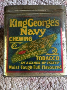 Chewing Tobacco Tin
