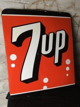 7up Porcelain Sign