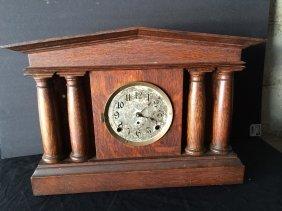 Pequegnat Pantheon Clock