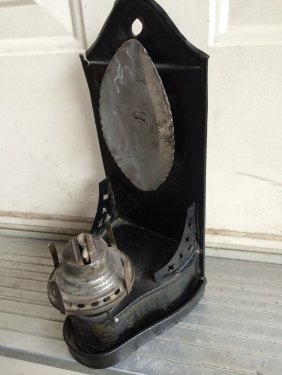 Tin Wall Sconce Lamp