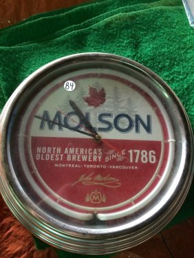 Molsons Clock