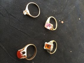 Group,gold Rings