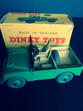 Boxed Dinky Land Rover