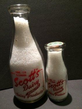 Scotts Dairy Pint Bottle
