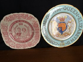 Two Royalty Plates