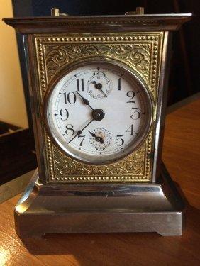 German Travel Clock