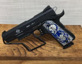 American Tactacial 1911 With Skull Grips, .22lr