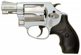 Smith & Wesson .38 Special + P Stainless Steel With