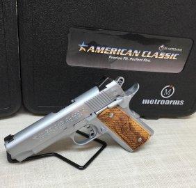 American Classic .45 Semi Auto Hard Chrome Compact