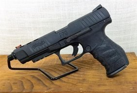"Walther Ppq 5"" Tactical With Ported Barrel And Slide"