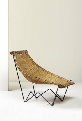 232 John Risley Lounge Chair Ca 1952 Lot 232