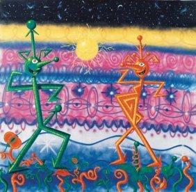 KENNY SCHARF, Sexadansa, 1984