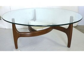 Mid-century Modern Adrian Pearsall Planter Coffee Table