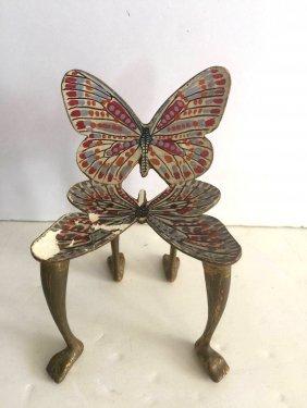 Pedro Friedeberg Butterfly Chair Sculpture 1970's