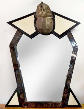 Maitland-smith Attrib. Egyptian Revival Style Mirror