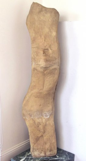 "Tall Mid-century Modern Studio ""man"" Ceramic Sculpture"