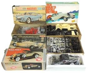 Toy Car Kits/radio (4), Aurora Maserati 3500 GT, Jo-Han