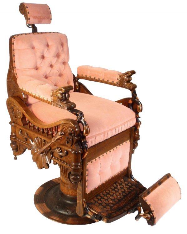 0762 Barber Chair Berninghaus Hercules The Orig Chai