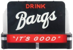 "Drink Barqs (Root Beer) Light-up Counter Sign, ""It"