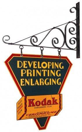 Kodak Developing, Printing, Enlarging Diecut Meta