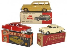 Toy Promotional Cars (3), Studebaker Exact Scale